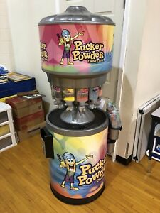 Pucker Powder Candy Art Vending