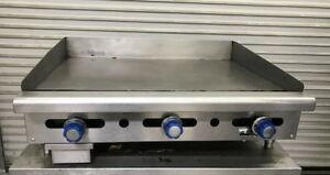 36 Flat Top Griddle Counter Top Gas Imperial Imga 36 8697 Commercial Plancha