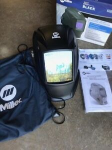 Miller Genuine Digital Elite Black Welding Helmet 257213 New In The Box
