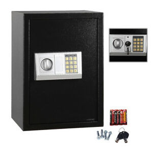 Digital Electronic Home Security Depository Safety Safe Box Keypad Lock Gun Box