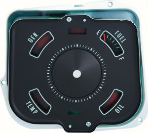 Oer 6480638 1968 Chevrolet Chevelle Fuel Gauge With Warning Lights