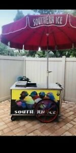 Italian Ice Cart nelson Cold Plate