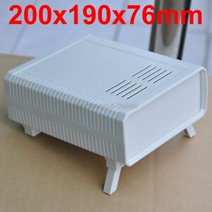 Hq Instrumentation Abs Project Enclosure Box Case White 200x190x76mm X1