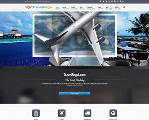 Established Profitable Turn key Fully Automated Travel Business Website For Sale