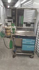 Datex Ohmeda Modulus Ii Anesthesia Machine W 7000 Vent for Parts Only
