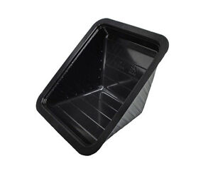 Double Sandwich Wedge Container Disposable 2401p Black Or Clear