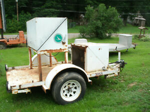 Trailer And Generator For Sale