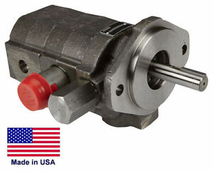 Hydraulic Pump Direct Drive 22 Gpm 3 000 Psi 2 Stage Clockwise Rotation
