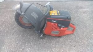 Husqvarna K 760 Concrete Cut Off Saw With Water Hookup