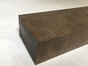 Low carbon Steel Rem 1 1 2 thick 2 1 2 X 12 3 4 Steel Plate e12