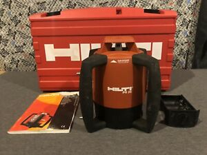 Hilti Pr 25 Rotating Level And Case Used Clean Free Shipping