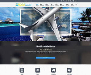 Established Profitable Travel Booking Turn key Business Website For Sale
