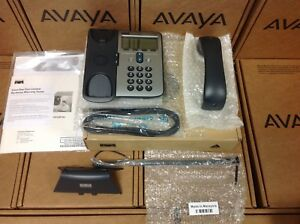 Cisco System 7912g Ip Phone W Handset Stand Handset Line Cord No Power Adapt