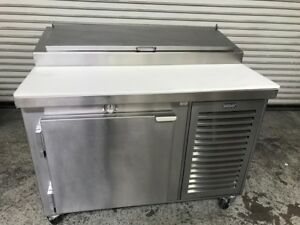 48 1 Door Nsf Refrigerated Pizza Sandwich Salad Prep Table Kairak Krp48s 8706