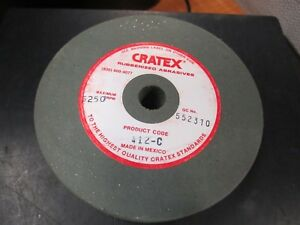 Cratex 412c 4 X 1 2 Hole X 3 4 Thick Rubber Bond Surface Grinding Wheel