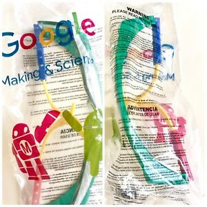 New Google Making Science Protective Lab Safety Glasses Goggles Rainbow Magid
