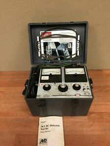 Biddle 5kv Dc Dielectric Test Set System Cat 220005 Series Working W manual