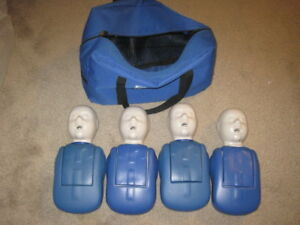 Cpr Prompt Infant Manikin 4 Pack With Case