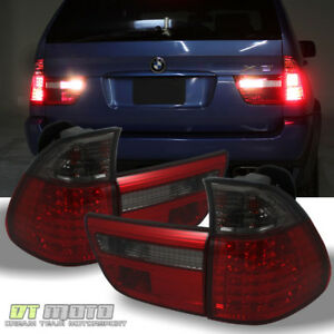 2000 2006 Bmw X5 E53 Lumileds Led Red Smoke Tail Lights Brake Lamps Left Right