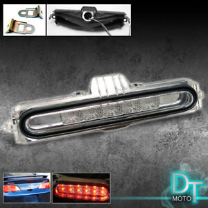 02 06 Acura Rsx Full Led Rear 3rd Third Brake Tail Light Lamp Clear New