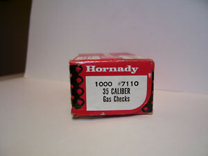 Hornady #7110 35 Caliber copper gas checks New box
