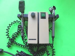 Welch Allyn 74710 Diagnostic Set Ophthalmoscope Otoscope Heads
