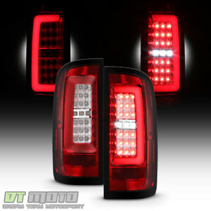 Red Clear 2015 2018 Chevy Colorado Full Led Tube Tail Lights Lamps Left right