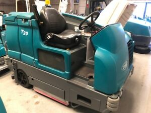 Tennant Remanufactured T20 Ride On Floor Scrubber Free Shipping 2015 Model