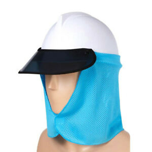 Hard Hat Sun Shield Shade Uv Protection Neck Mask Cooling Helmet Brim Cap Visor