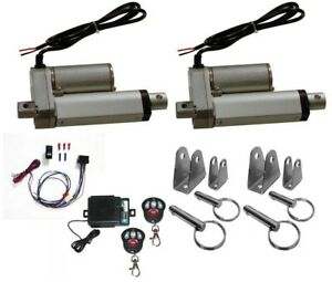 2 Heavy Duty Linear Actuator 12v 2 Stroke Includes Remote Switch