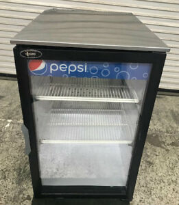 Glass Door Counter Top Cooler Beverage Drink Display Refrigerator Qbddc6lp 8712