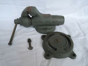 Vintage Antique Wilton Bullet Vise No 3 3 Vise