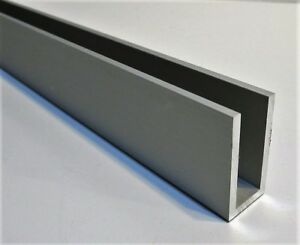 New 4 Pcs 3 4 X 1 1 2 X 1 8 X 48 Long Satin Anodized Aluminum Channel