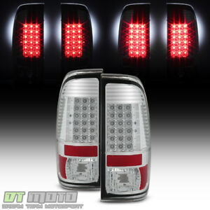 1997 2003 Ford F150 1999 2007 F250 F350 F450 Sd Led Tail Lights Lamps Left Right