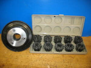 Jacobs Model 50 Collet Chuck Collets 100 1 060 L 00 Clausing Colchester