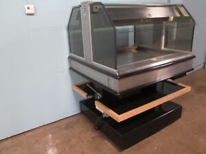 henny Penny Hd Commercial Heated Lighted Hot Food chicken Island Merchandiser