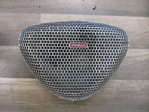 Vintage Edelbrock Chrome Pro Flo Triangle Mesh Air Cleaner Very Nice