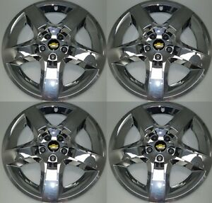 Set Of 4 Chrome Chevrolet Malibu Hubcap Wheel Cover 3277 17