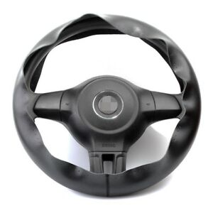 For Ford Car Genuine Leather Steering Wheel Cover Breathable Needle Thread Black