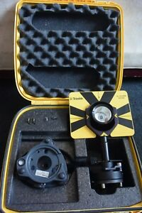 Trimble Brand Prism Model P n 583920001 35mm With Carrying Case