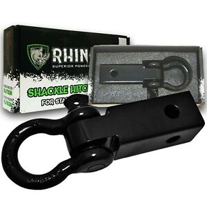 Rhino Usa D Ring Shackle Hitch Receiver Best Towing Accessories Jeeps Trucks