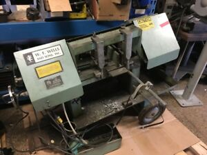 W f Wells Model A 7 Horizontal Band Saw 7 X 177 Capacity
