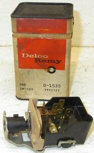 Nos 1964 Headlamp Switch Oldsmobile Dynamic 88 98 Jetstar Genuine Gm Delco