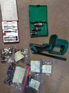 RCBS RS2 SINGLE STAGE RELOADING PRESS WITH DIES and EXTRAS