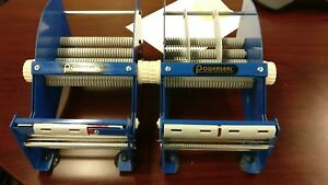 Lot Of 2 New Uline 12 Label Tape Dispensers 6 Roll 1 3 Core Powerseal