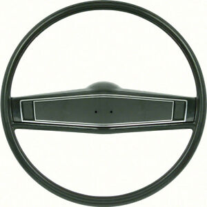 Oer R3497 1969 70 Chevy Camaro Chevelle Nova Impala Dark Green Steering Wheel