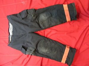 Janesville Lion Firefighter Turnout Gear Bunker Pants 44r Snap Out Liner