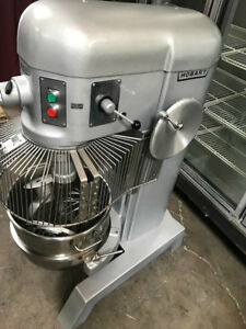 60 Qt Mixer Nsf New Attachments Bowl Guard Cage Hobart H 600 8716 Commercial