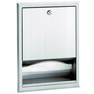 Bobrick B 359 Commercial Paper Towel Dispenser Recessed Stainless Steel