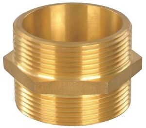 Fire Hose Hex Nipple Adapter Nonswivel Adapters Fittings Sub category Mnst X